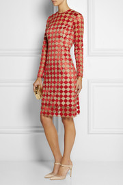 Jonathan Saunders Cadleigh silk-embroidered tulle dress