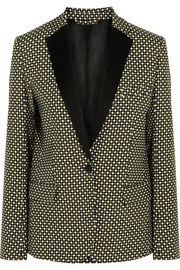 Jonathan Saunders Louise printed silk and wool-blend blazer
