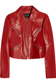 Jonathan Saunders Matilda leather jacket