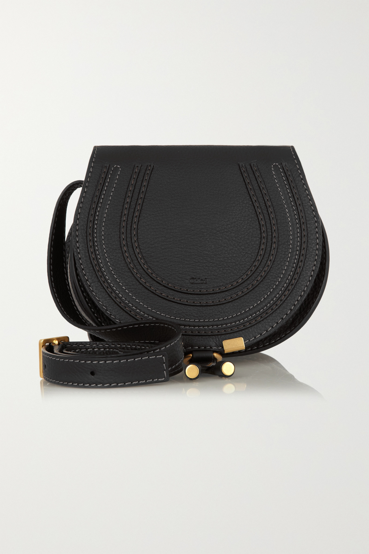 Chloé Marcie mini textured-leather shoulder bag