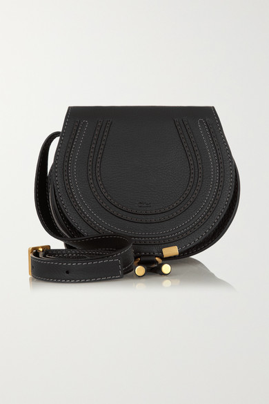 183f0ee02e Chloé | Marcie mini textured-leather shoulder bag | NET-A-PORTER.COM