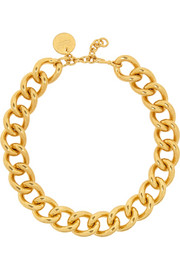 Alexander McQueen Gold-plated necklace