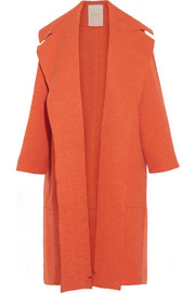 Roksanda Ilincic Helston oversized bouclé and textured-felt coat