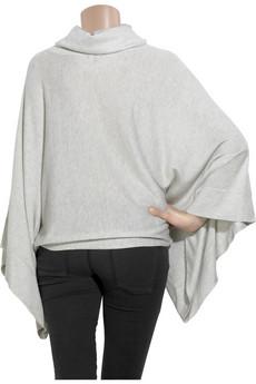 TheoryKimono-style cashmere sweater