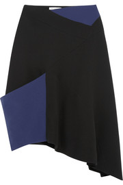 J.W.Anderson Asymmetric two-tone twill skirt