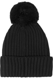 Stella McCartney Ribbed wool beanie