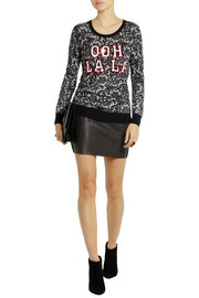 Markus Lupfer Ooh La La sequined merino wool sweater