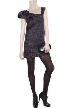 Thread SocialCityscape asymmetric silk dress