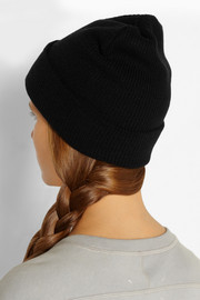 Karl Lagerfeld Crystal-embellished knitted beanie