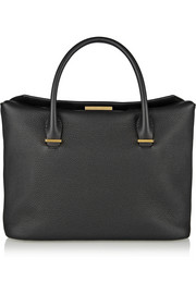 The Row Textured-leather tote