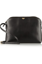 The Row Leather shoulder bag
