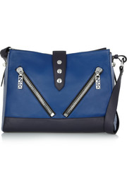 KENZO Kalifornia leather shoulder bag