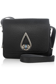 KENZO Raindrop textured-leather shoulder bag