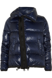 Sacai Luck padded shell down coat