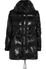 Sacai Sacai Luck padded shell down coat