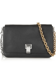 Proenza Schouler PS Courier small textured-leather shoulder bag