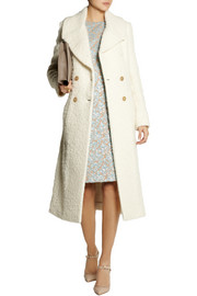 Rochas Textured-felt coat