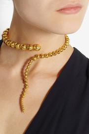 Paula MendozaGlaucus gold-plated necklace