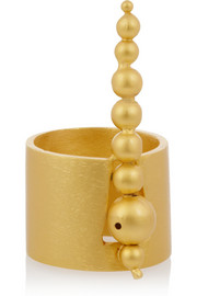 Paula Mendoza Hera gold-plated ring