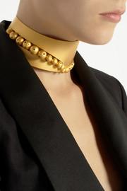 Paula MendozaHera gold-plated choker