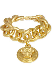 Versace Gold-plated chain-link bracelet