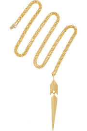 Maiyet Poison Dart gold-plated necklace
