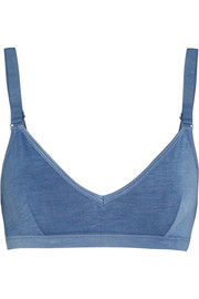 Stretch-bamboo soft-cup bra