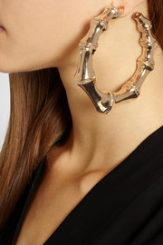 Balmain Gold-plated hoop earrings
