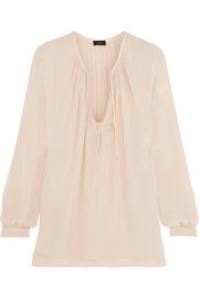 Joseph Carl washed-silk top