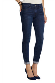 Frame Denim Le High Skinny Crop jeans