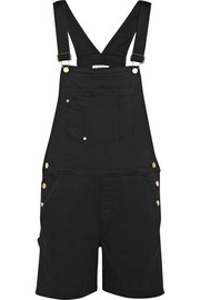 Frame Denim Le Garcon stretch-denim overalls