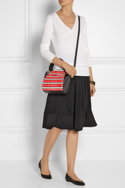 Maiyet Peyton mini elaphe and leather shoulder bag