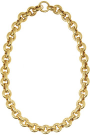 Olivia Collings 1860s gold-plated necklace