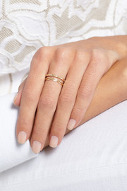Melissa Joy Manning 14-karat gold ring