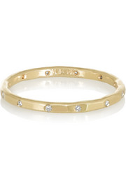 Melissa Joy Manning 14-karat gold diamond ring