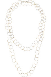 Melissa Joy Manning 14-karat gold necklace