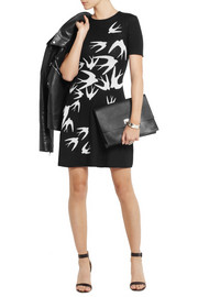 McQ Alexander McQueen Intarsia wool mini dress