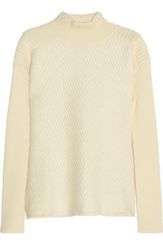 McQ Alexander McQueen Oversized ribbed felt-wool sweater