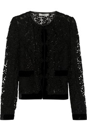Erdem Victoria embroidered lace jacket