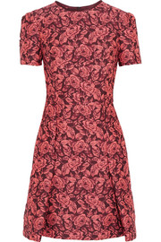 Erdem Aubrey floral-jacquard mini dress