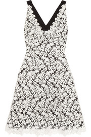 Erdem Elizabeth embroidered lace dress