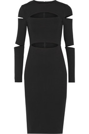 Cushnie et Ochs Cutout stretch-jersey dress
