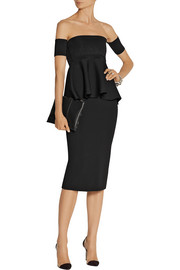 Cushnie et Ochs Stretch-jersey pencil skirt