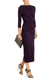 Vivienne Westwood Anglomania Taxa stretch-jersey midi dress