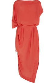 Vivienne Westwood Anglomania Annex draped crepe dress