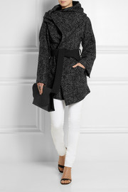 Vivienne Westwood Anglomania Talik oversized woven wrap coat