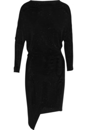 Vivienne Westwood Anglomania Hollow glitter-finished stretch-jersey dress
