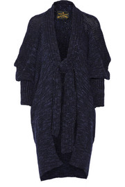 Vivienne Westwood Anglomania Atmos chunky-knit wool-blend cardigan