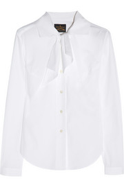 Vivienne Westwood Anglomania Approval stretch-cotton shirt