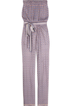 Missoni Strapless knitted jumpsuit